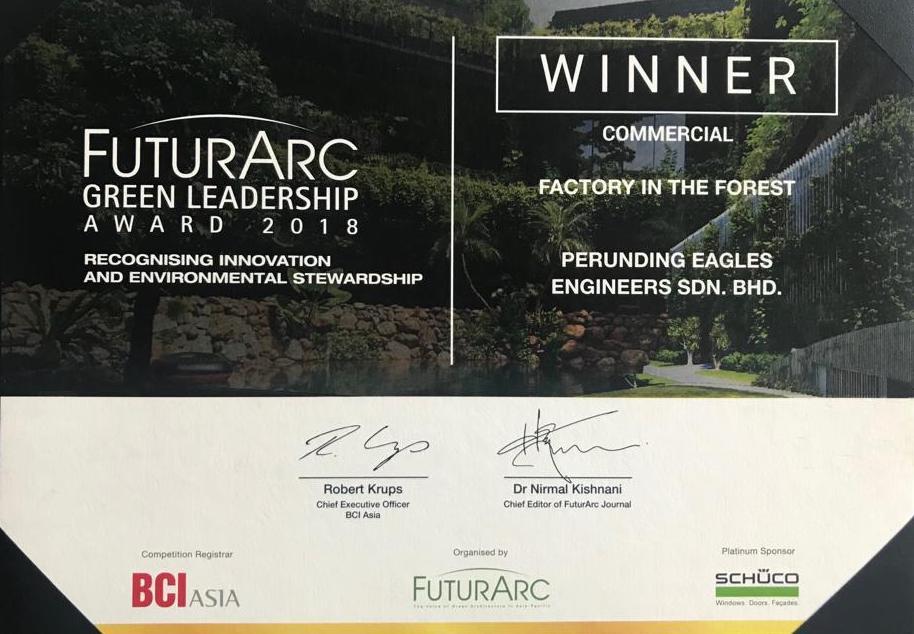 FUTURARC Green Leadership Award