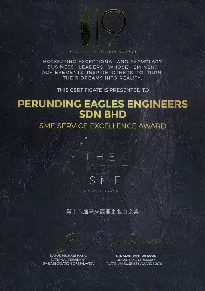 SME Service Excellence award